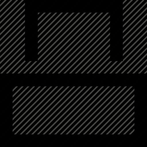 Device, line, minimal, paper, printer icon - Download on Iconfinder