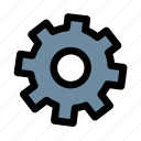 cog, gear, options, preferences, settings, configuration