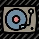 dj, music, turntable, vinyl, vinyl player, instrument