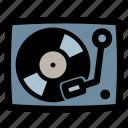 dj, party, turntable, vinyl, vinyl player