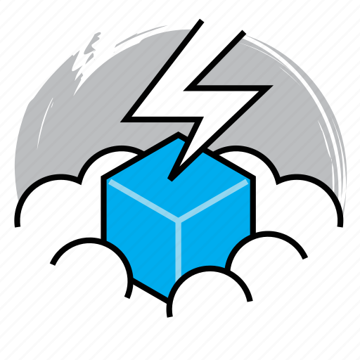 cloud, cloud computing, computing, data, power, server, solution icon
