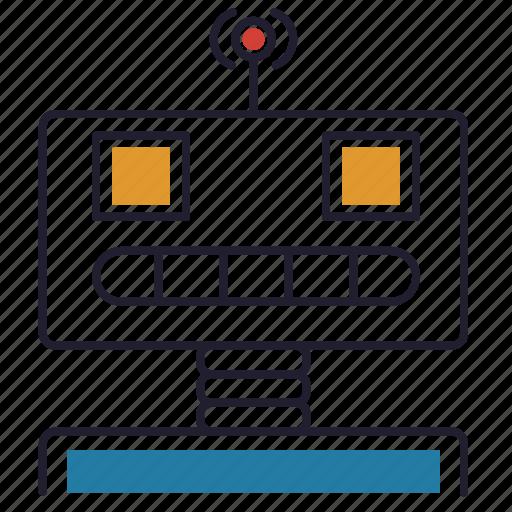 android, bot, machine, robot, robotic icon