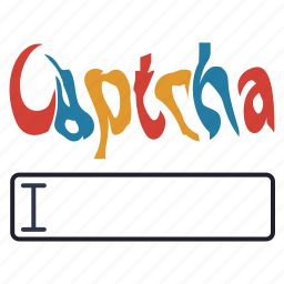 captcha, password, privacy, safety, secure, security icon
