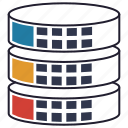 databank, database, repository, server, storage icon