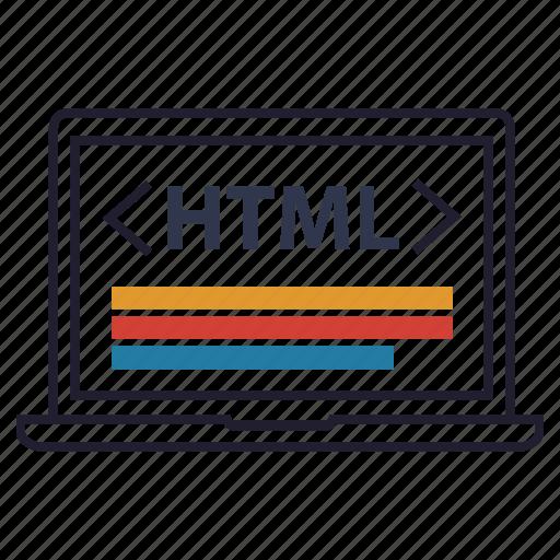 code, html, html 5, web, web development, website icon