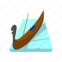 canal, cartoon, europe, gondola, italy, travel, venice icon