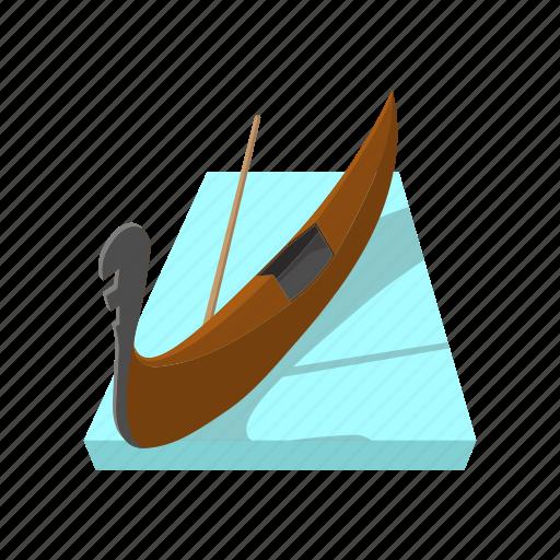 canal, cartoon, europe, gondola, italy, travel, venice icon