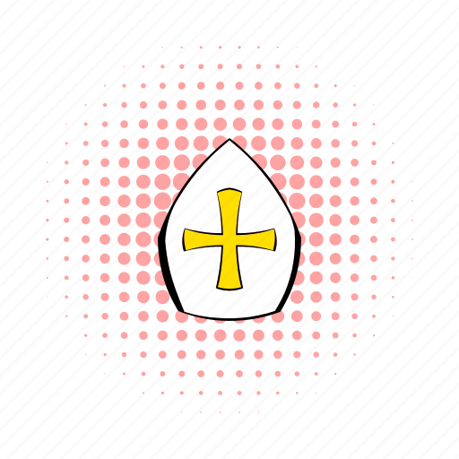 comics, faith, hat, papal, pontiff, tiara, vatican icon