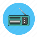 music, radio, song, tune icon