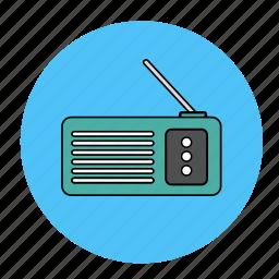 music, radio, song, tune icon