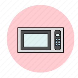 cooking, kitchen, microwave icon