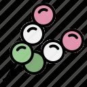 dango, dumpling, japan, japanese, mochi, skewer, sweet icon