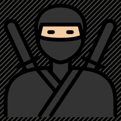 agent, covert, japan, japanese, mercenary, mystery, ninja icon