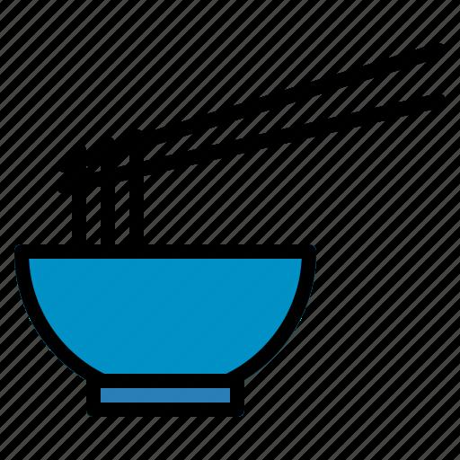 blow, food, hot, japanese, noodle, ramen, soup icon