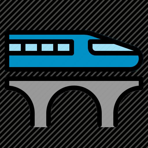 bullet, japan, rapid, shinkansen, train, transportation, travel icon