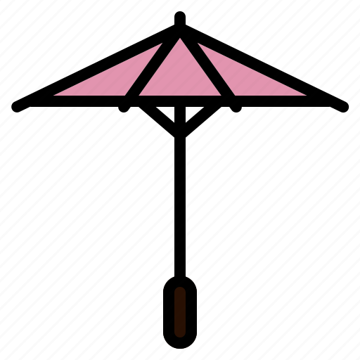 beautiful, decorate, garden, japanese, traditional, umbrella icon