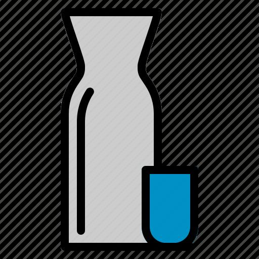 alcohol, bottle, drink, japanese, rice, sake, wine icon