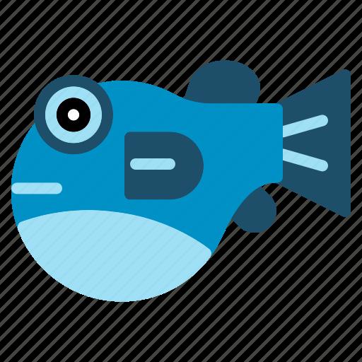 cuisine, fish, fugu, globefish, japanese, sashimi, sea icon