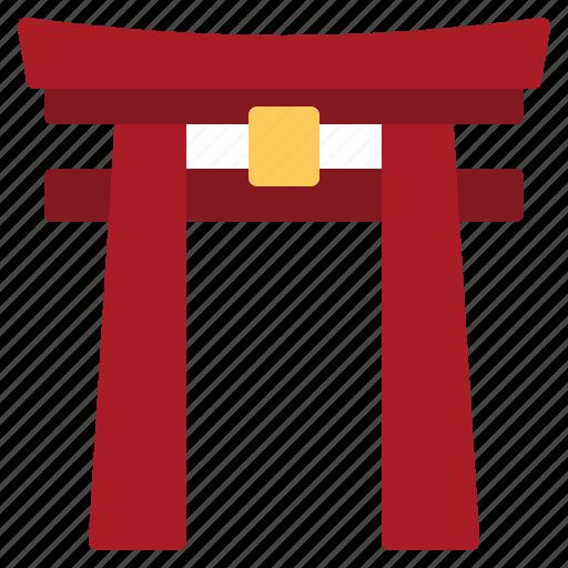 gate, japan, japanese, landmark, shinto, shrine, torii icon