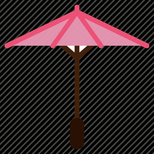 beautiful, decorate, garden, japanese, traditional, umbrella icon