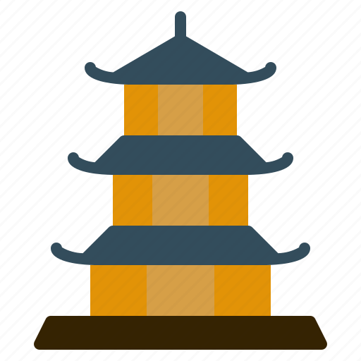 japan, japanese, pagoda, religion, shinto, shrine, temple icon