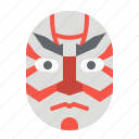 drama, japan, kabuki, mask, theater