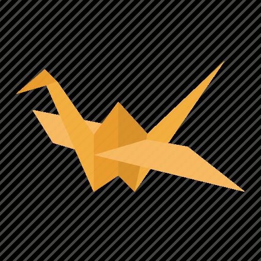 art, design, hope, origami, paper icon