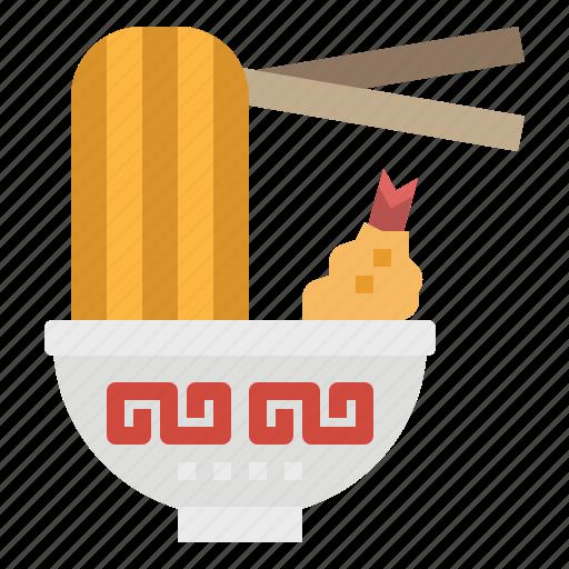 bowl, food, noodle, ramen, soup icon