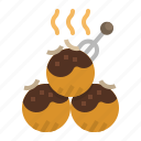 food, japan, japanese, restaurant, takoyaki icon
