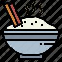 bowl, food, japanese, rice