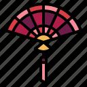 cultures, fan, sensu, traditional icon