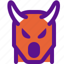asia, china, devil, hell, horns icon