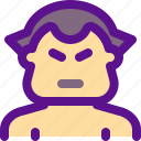 asia, china, fat, fight, sport, sumo