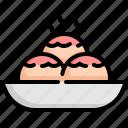 cooking, food, japan, japanese, sushi, takoyaki, traditional icon