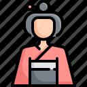 avatar, female, geisha, girl, japan, kimono, woman