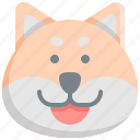 animal, animals, dog, pet, shiba icon