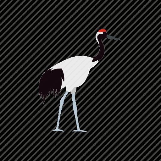 bird, crane, japan, japanese, nature, wild, wildlife icon