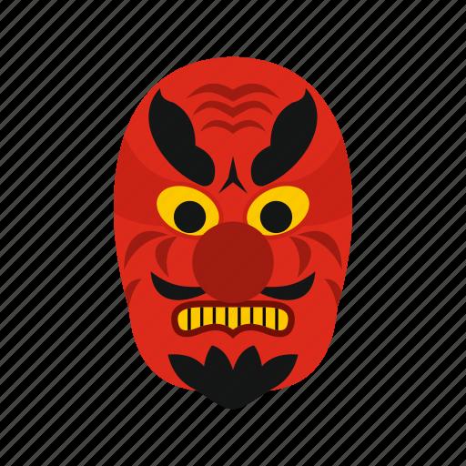 culture, demon, devil, japan, japanese, mask, traditional icon
