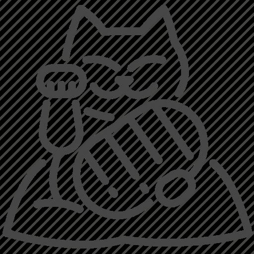 asia, cat, charm, japan, japanese, lucky, maneki-neko icon