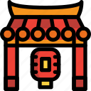 gate, japan, lantern, temple