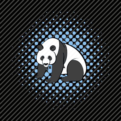 animal, asia, comics, nature, panda, wild, wildlife icon