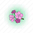 blossom, branch, cherry, comics, flower, sakura, spring icon