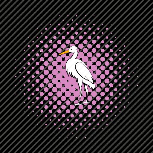bird, chinese, comics, crane, japanese, nature, painting icon