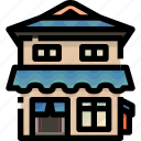 architecture, buildings, estate, house, japanese, property, real icon