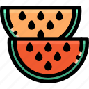 food, fruit, melon, watermelon