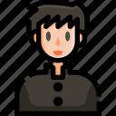 avatar, college, education, man, people, school, schoolboy icon
