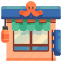 food, japan, restaurant, shopper, shopping, store icon
