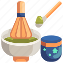 aroma, garden, green, leaf, scent, sprout, tea icon