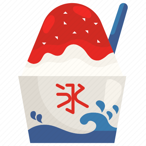 Cream, cup, dessert, food, ice, shaved, sweet icon - Download on Iconfinder