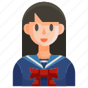avatar, college, education, people, school, schoolgirl, woman